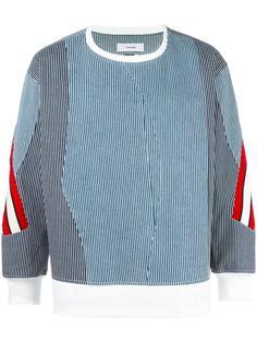 contrast stripes jumper  Facetasm