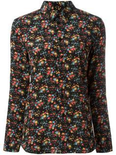 рубашка Paris с цветочным узором Saint Laurent