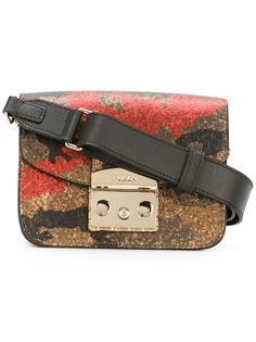 камуфляжная сумка на плечо Furla