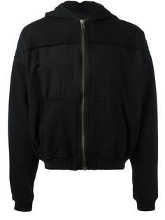 stitched panel hoodie  Haider Ackermann