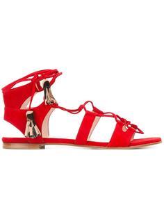 gladiator sandals  Stuart Weitzman
