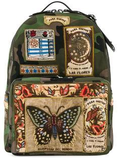 рюкзак с нашивками Valentino