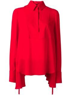draped blouse Alexander McQueen