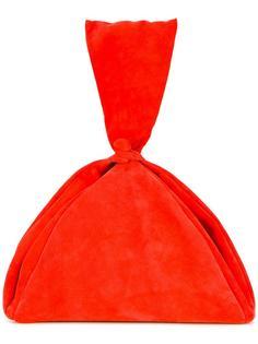 draped clutch bag Isa Arfen