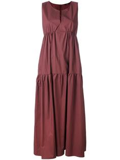 длинное платье без рукавов Odeeh