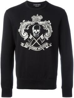 skull print  sweatshirt  Alexander McQueen