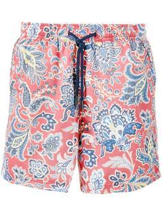 шорты для плавания с узором пейсли Etro