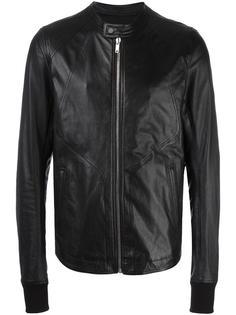 band collar jacket Rick Owens