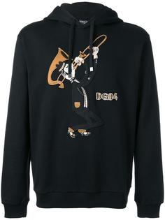 trombonist patch hoodie Dolce & Gabbana