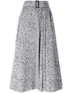 юбка с леопардовым принтом Max Mara