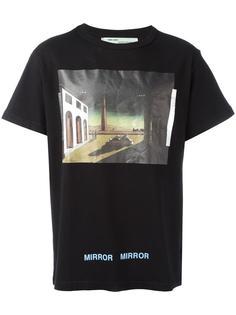 футболка De Chirico Off-White