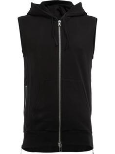 sleeveless hoodie Balmain