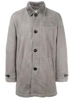 короткое пальто на пуговицах Brunello Cucinelli