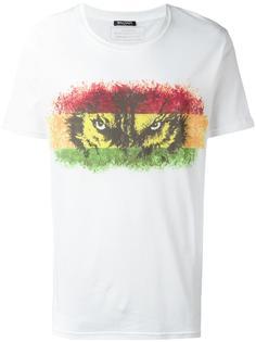 футболка с рисунком Balmain
