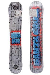 Сноуборд Santa Cruz Bubble Graffiti 152 Grey