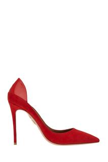 Кожаные туфли Fellini Pump Aquazzura