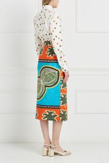 Хлопковая юбка Efficace Stella Jean