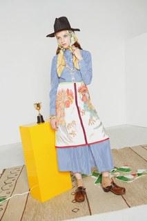 Хлопковое платье Disordinata Stella Jean