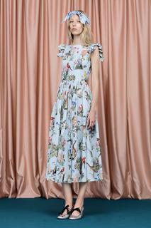 Хлопковое платье Alligatore Vivetta
