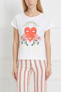 Хлопковая футболка Procione Vivetta
