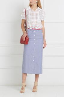 Хлопковая блузка Disponibile Stella Jean
