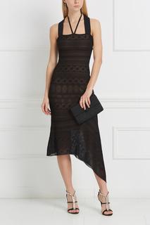 Платье с кружевом Stevan Roland Mouret