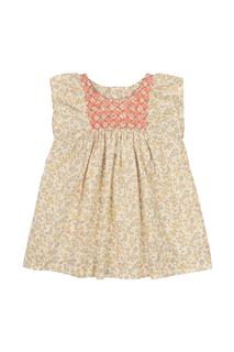 Хлопковое платье Cadelili Bonpoint