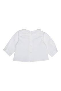 Хлопковая блузка Aquarell Bonpoint