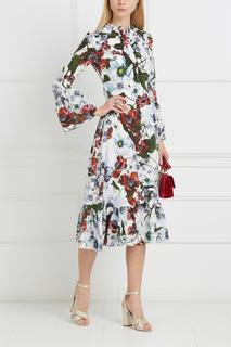 Шелковое платье Connie Erdem