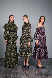 Шелковое платье Dee Erdem