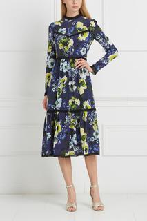 Шелковое платье Georgie Erdem