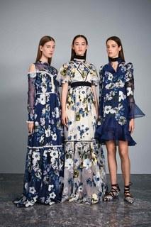 Шелковое платье Sabine Erdem