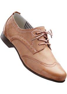 Туфли на шнуровке (антрацитовый) Bonprix