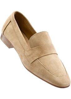 Кожаные туфли (олений) Bonprix