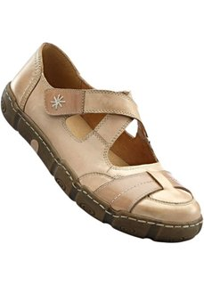 Удобные кожаные туфли (серый) Bonprix