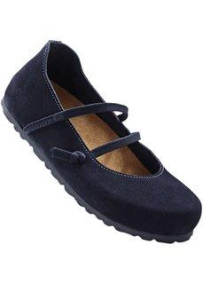 Удобные замшевые туфли (темно-красный) Bonprix