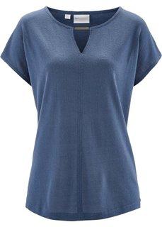 Шелковая футболка (коралловый) Bonprix