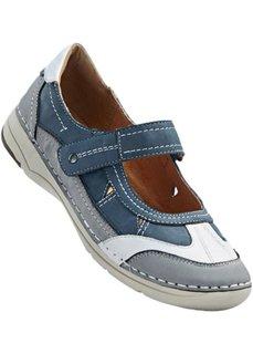 Удобные туфли (светло-серый/синий) Bonprix