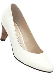Кожаные туфли (золотистый) Bonprix