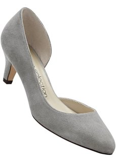 Замшевые туфли (черный) Bonprix