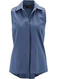 Льняная блузка (нежно-лимонный) Bonprix