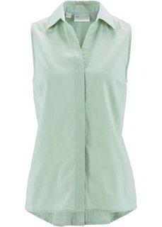 Льняная блузка (индиго) Bonprix