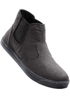 Ботинки (серый) Bonprix