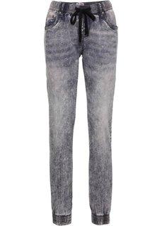 Эластичные джинсы на резинке COMFORT, cредний рост (N) (нежно-голубой) Bonprix