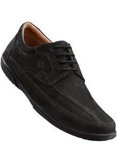 Удобные кожаные туфли от Lico (коричневый) Bonprix