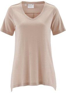 Шелковая футболка (индиго) Bonprix