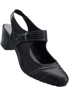 Туфли с открытой пяткой (светло-серый) Bonprix