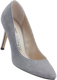 Замшевые туфли (серый) Bonprix