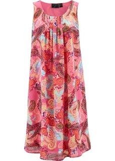 Платье с узором пейсли (ярко-розовый с рисунком) Bonprix