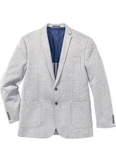 Трикотажный пиджак Regular Fit, cредний рост (N) (синий меланж) Bonprix